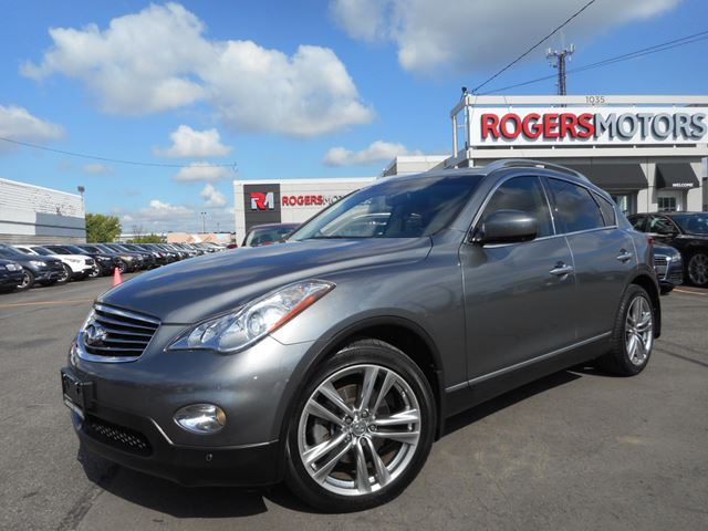 2012 infiniti ex35 navi full camera gray rogers motors. Black Bedroom Furniture Sets. Home Design Ideas