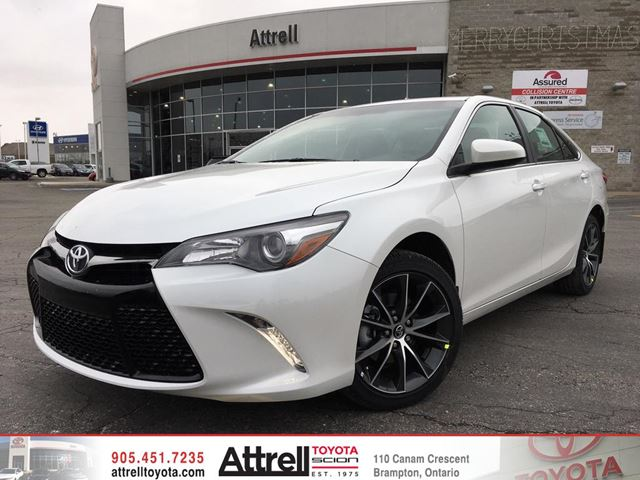 2017 toyota camry white blizzard pearl attrell toyota. Black Bedroom Furniture Sets. Home Design Ideas