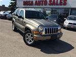 2006 Jeep Liberty 4dr Limited 4WD PW PL PM A/C SAFETY NO RUST LOCAL in Oakville, Ontario