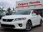 2014 Honda Accord Cpe EX-L V6 Navi 6sp in Calgary, Alberta