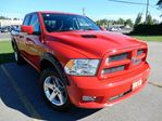 2012 Dodge RAM 1500 Sport 4x4 Quad Cab 140 in. WB - ADDED ACCESSORIES,BRIGHT RED,5.7L! in Belleville, Ontario