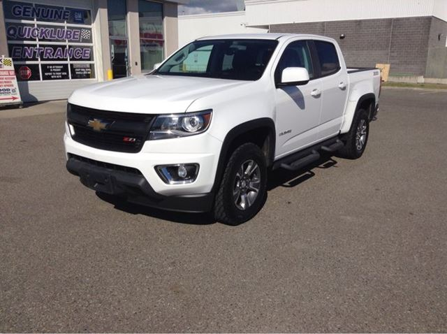 2015 CHEVROLET COLORADO Z71 in Prince George, British Columbia