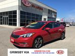 2015 Kia Forte SX Navigation!Leather,Sunroof!!! in Grimsby, Ontario