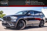 2015 Dodge Durango R/T AWD 6 Seater Navi Backup Cam Bluetooth R-Start Leather 20Alloy Rims in Bolton, Ontario