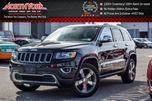 2015 Jeep Grand Cherokee Limited 4x4 Leather Nav ParkSense HTD Seats Backup Cam 20Alloys in Thornhill, Ontario