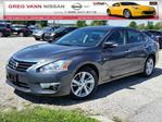 2013 Nissan Altima 2.5 SL w/all leather,sunroof,climate control,rear cam in Cambridge, Ontario