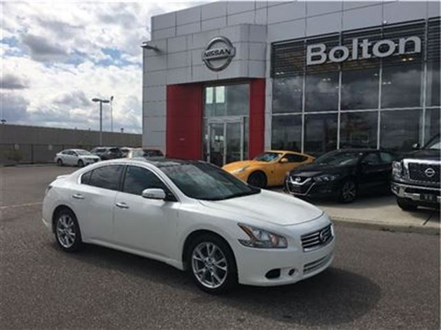 2012 nissan maxima sv panoramic sunroof leather bose bolton ontario used car for sale. Black Bedroom Furniture Sets. Home Design Ideas