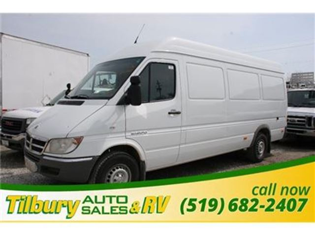 2006 DODGE SPRINTER 2500 Cargo Van in Tilbury, Ontario