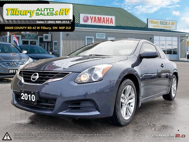 2010 NISSAN ALTIMA 2.5 S. BLUETOOTH. CLEAN. LOW KM'S. in Tilbury, Ontario