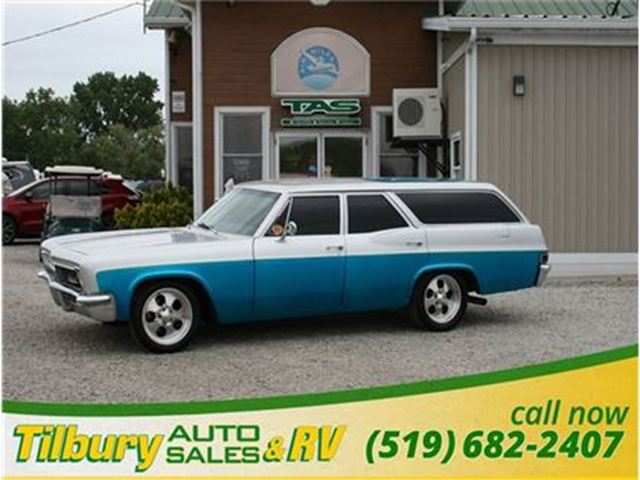 1966 Chevrolet Bel Air Wagon - Go back in time in this classic ride! in Tilbury, Ontario