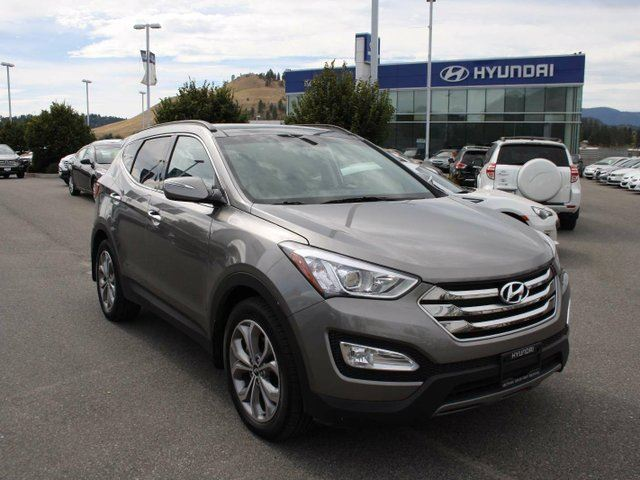2016 hyundai santa fe 2 0t limited 4dr all wheel drive grey kelowna hyundai. Black Bedroom Furniture Sets. Home Design Ideas