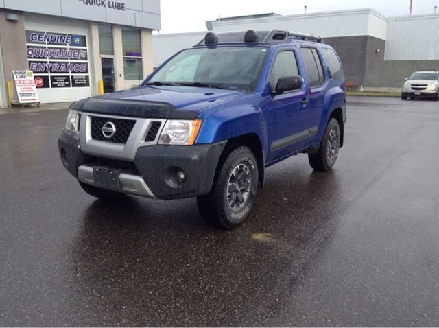 2015 NISSAN XTERRA 4DR 4WD AUTO in Prince George, British Columbia