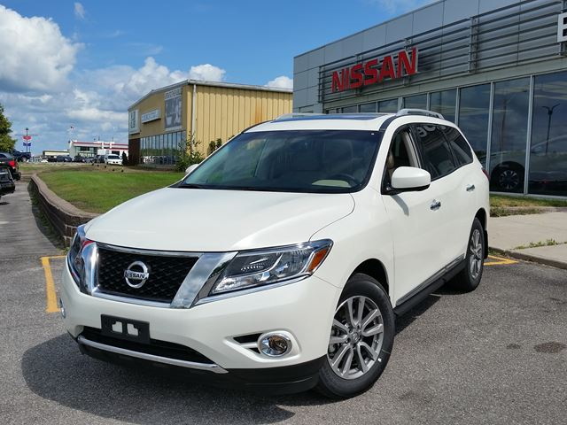 2016 nissan pathfinder sl white experience nissan new car. Black Bedroom Furniture Sets. Home Design Ideas