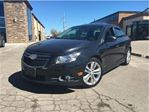 2012 Chevrolet Cruze LTZ Turbo LEATHER NAVIGATION MOONROOF in St Catharines, Ontario