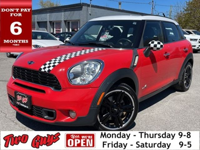 2012 MINI COOPER Countryman AWD S PKG LEATHER PREMIUM SPORT PACKAGE MOONRO in St Catharines, Ontario