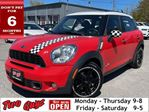 2012 MINI Cooper Countryman AWD LEATHER PREMIUM SPORT PACKAGE MOONRO in St Catharines, Ontario