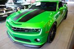 2011 Chevrolet Camaro 2SS SYNERGY GREEN CUSTOM CAR GORGEOUS LOW KM FINANCE AVAILABLE in Edmonton, Alberta