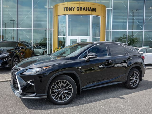 2016 Lexus Rx 350 F Sport Series 3 Black Tony Graham Lexus