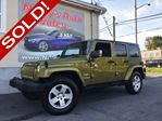 2007 Jeep Wrangler UNLIMITED SAHARA, 4X4, 4DR, AUTO, HARD & SOFT TOP! $0 DOWN $270 BI-WEEKLY! in Ottawa, Ontario