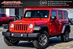 2015 Jeep Wrangler Unlimited Rubicon CleanCarProof Connect Grp Htd Front Seats Manual 17Alloys  in Thornhill, Ontario