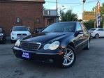 2004 Mercedes-Benz C-Class Kompressor Sport 1.8L,Leather,LowKms,TradeInSpecia in Toronto, Ontario