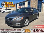 2013 Nissan Altima 2.5 LEATHER NAVIGATION SUNROOF in St Catharines, Ontario