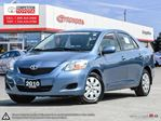 2010 Toyota Yaris Base One Owner, Toyota Serviced in London, Ontario