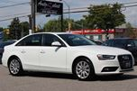 2013 Audi A4 AWD QUATTRO ONLY 86K! **CLEAN CARPROOF** LIGHTS PKG in Scarborough, Ontario