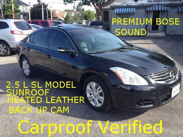 2012 Nissan Altima 2.5 SL Sunroof/Leather in Hamilton, Ontario
