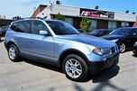 2005 BMW X3 2005 BMW X3 2.5i / PANORAMIC ROOF/ LEATHER / NO ACCIDENT HISTORY in Brampton, Ontario