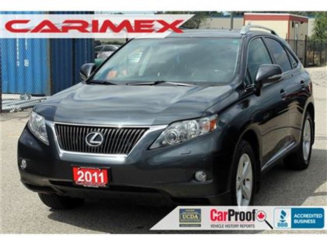 2011 LEXUS RX 350 Bluetooth   Sunroof   Leather   AWD   CERTIFIED in Kitchener, Ontario