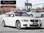 2013 BMW 3 Series 328 i ONLY 80K! **CONVERTIBLE** M SPORT PKG **NAV PKG**  in Scarborough, Ontario