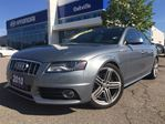 2010 Audi S4 PREMIUM V6  AWD  ALLOYS  LEATHER  ROOF  ONE OW in Oakville, Ontario