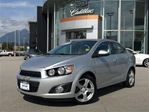 2015 Chevrolet Sonic LT in North Vancouver, British Columbia