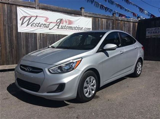 2015 hyundai accent gl 34000 kms ottawa ontario used car for sale 2575864. Black Bedroom Furniture Sets. Home Design Ideas