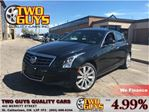 2013 Cadillac ATS 2.0L Turbo Luxury AWD LEATHER SUNROOF FRONT & REAR in St Catharines, Ontario