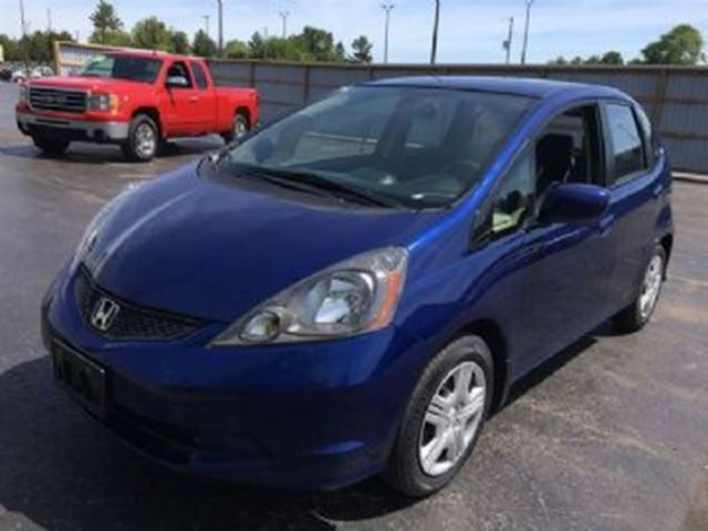 2014 honda fit sport includes winter tires blue lease. Black Bedroom Furniture Sets. Home Design Ideas