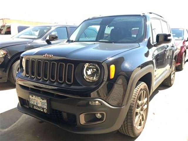 2016 jeep renegade 75th anniversary demo only 1203 kms. Black Bedroom Furniture Sets. Home Design Ideas