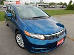 2012 Honda Civic EX 4dr Sedan - EXTENDED WARRANTY,ALLOYS,SUNROOF! in Belleville, Ontario