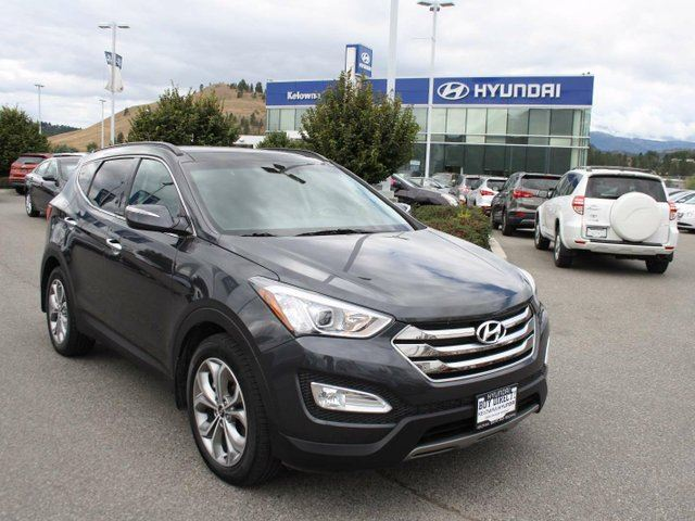 2016 hyundai santa fe 2 0t limited 4dr all wheel drive kelowna british columbia used car for. Black Bedroom Furniture Sets. Home Design Ideas