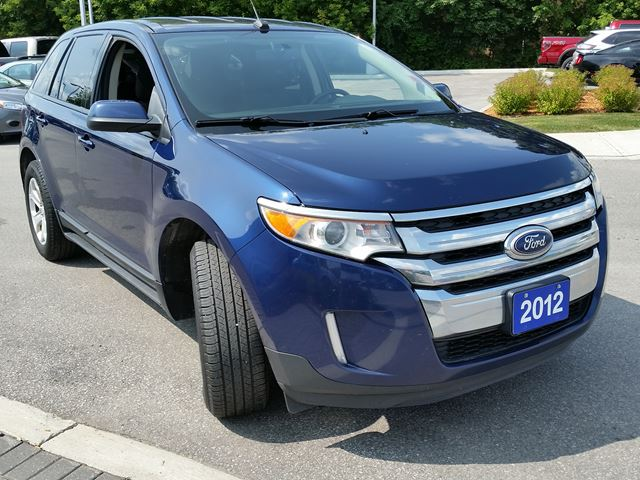 2012 ford edge sel orillia ontario used car for sale 2576739. Black Bedroom Furniture Sets. Home Design Ideas