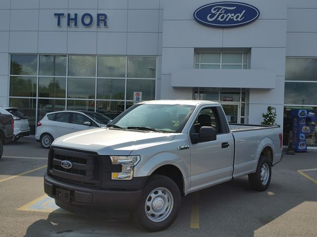 2016 ford f 150 xl silver thor motors new car. Black Bedroom Furniture Sets. Home Design Ideas