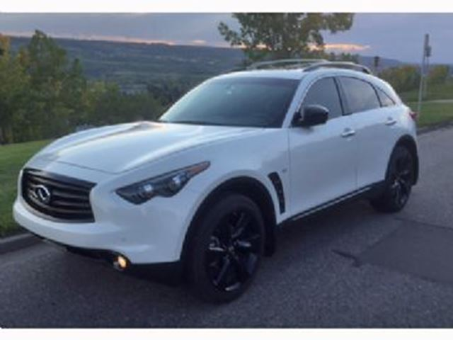 2015 infiniti qx70 mississauga ontario used car for sale 2577850. Black Bedroom Furniture Sets. Home Design Ideas