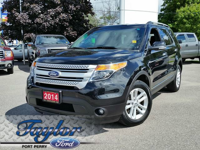 2014 ford explorer xlt 4x4 leather power liftgate port perry ontario used car for sale. Black Bedroom Furniture Sets. Home Design Ideas