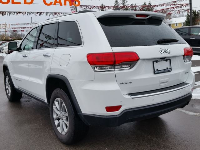 used 2015 jeep grand cherokee limited 4x4 leather. Black Bedroom Furniture Sets. Home Design Ideas