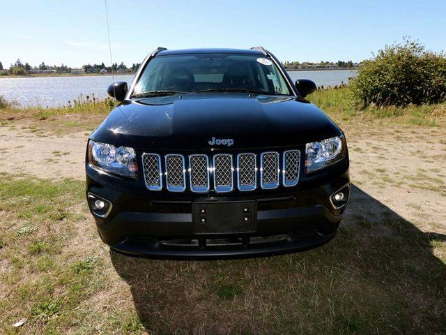 2015 Jeep Compass NORTH, LEATHER HEATED SEATS, SUNROOF, SATELLITE RADIO, NO ACCIDENTS, HIGH ALTITUDE EDITION, FREE LIFETIME ENGINE WARRANTY!