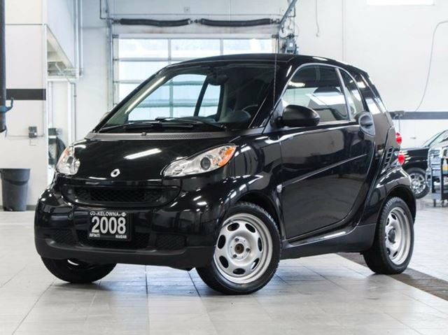 2008 smart fortwo pure 2dr coupe kelowna british columbia used car for sale 2578153. Black Bedroom Furniture Sets. Home Design Ideas