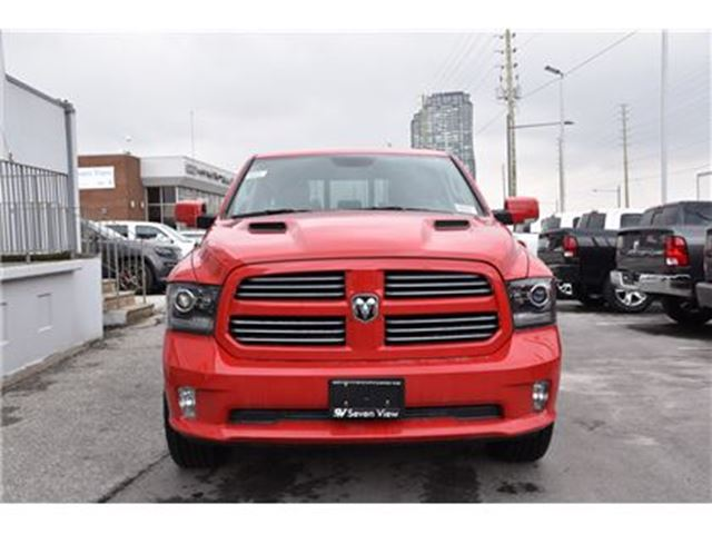 2017 Dodge RAM 1500 Sport Navigation, Leather, Sunroof, Sport Hood  in Concord, Ontario