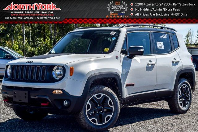 2016 jeep renegade trailhawk thornhill ontario new car. Black Bedroom Furniture Sets. Home Design Ideas