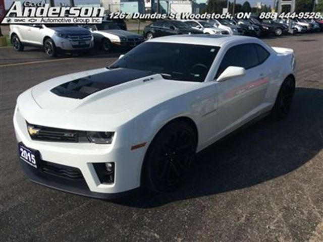 2015 chevrolet camaro zl1 certified low mileage. Black Bedroom Furniture Sets. Home Design Ideas